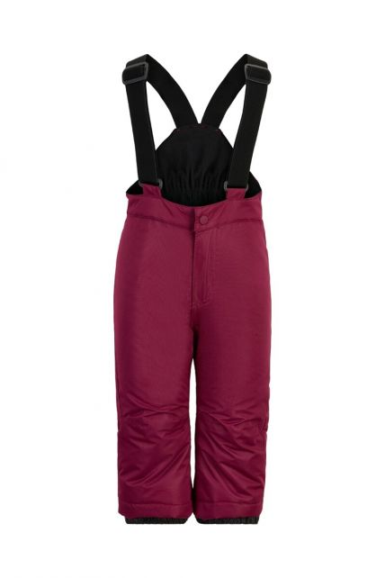 Color-Kids---Ski-pants-AF-10000-for-babies---Solid---Beet-Red