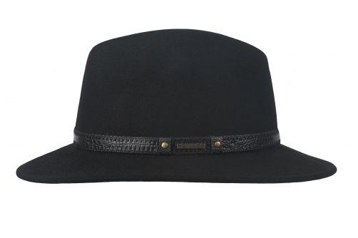 Hatland---Wool-hat-for-men---Yashvier---Black