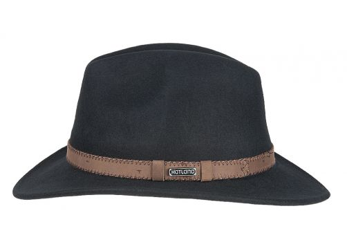 Hatland---Wool-hat-for-adults---Parsons---Black