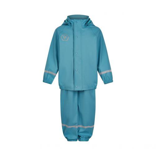 Color-Kids---Rainsuit-Set-with-suspender-for-children---Delphinium-Blue