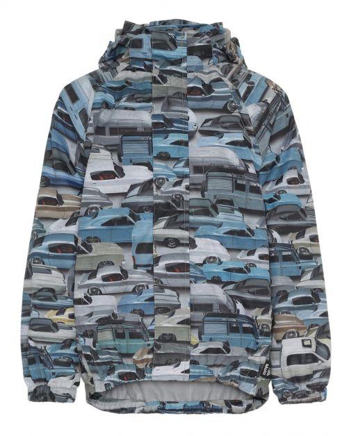 MOLO---Rain-jacket-for-boys---Waiton-Cars---Blue/Multi