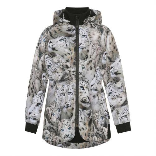 MOLO---Winter-jacket-for-girls---Hillary---Snowy-Leopards