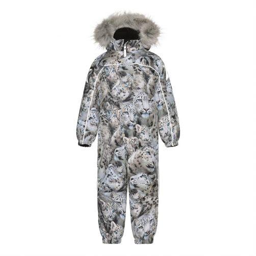 MOLO---Snow-suit-for-girls---Polaris-Fur---Snowy-Leopard
