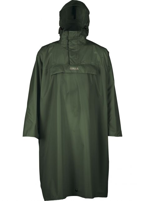 Pro-X-Elements---Hiking-poncho-for-large-backpack---Matterhorn---Forest-green