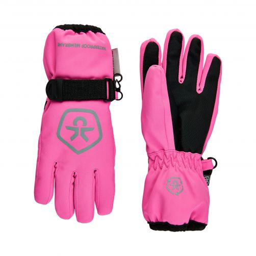 Color-Kids---Waterproof-winter-gloves-for-children---Sugar-Pink