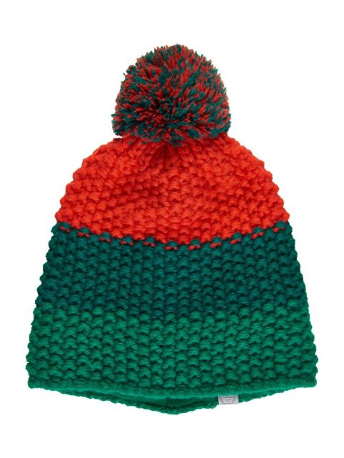 Color-Kids---Beanie-for-children---Stripes---Cadmium-Green