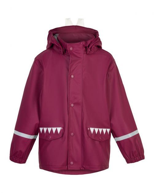 Color-Kids---Rain-jacket-for-children---Bunny---Beet-Red