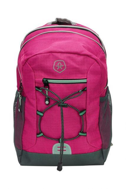 Color-Kids---Backpack-with-front-elastic---Ribstop---Rose-Violet