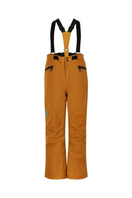 Color-Kids---Ski-pants-with-pockets-for-children---Solid---Honey