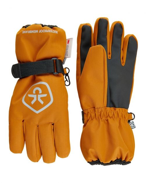Color-Kids---Waterproof-gloves-for-children---Honey
