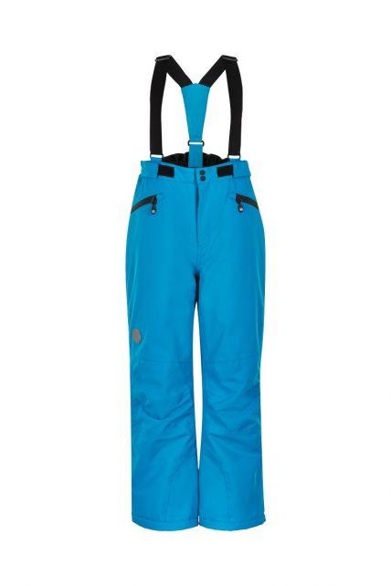 Color-Kids---Ski-pants-with-pockets-for-children---Solid---Blue-Surf