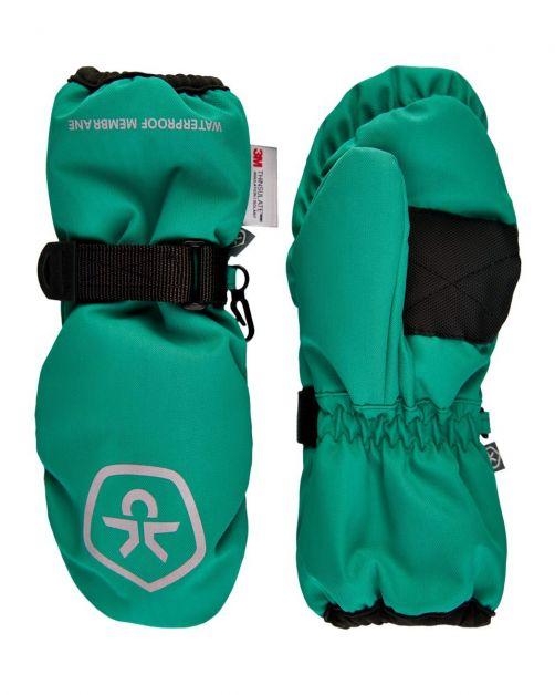 Color-Kids---Waterproof-mittens-for-children---Golf-Green
