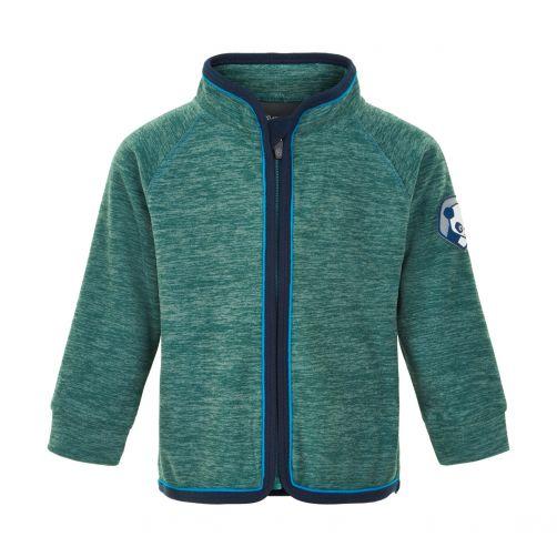 Color-Kids---Fleece-jacket-for-babies---Melange---Hydro
