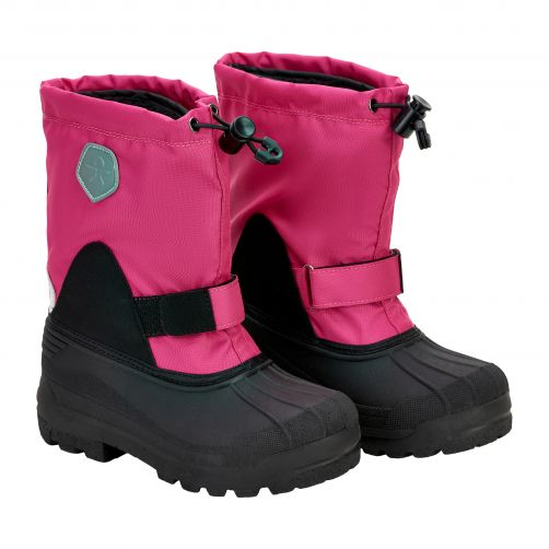 Color-Kids---Winter-boots-with-inner-sock-for-children---Pink-Peacock