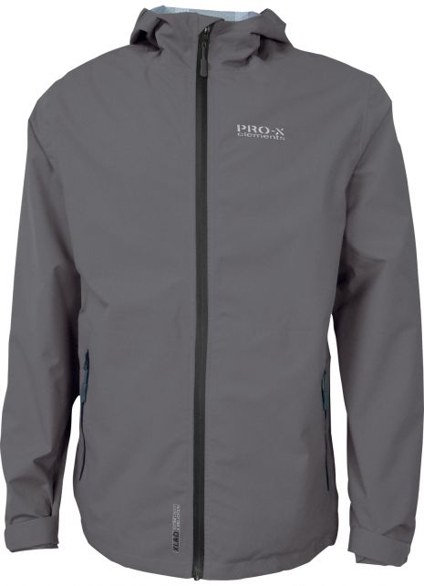 Pro-X-Elements---XL&D-rain-jacket-for-men---Blake---Grey