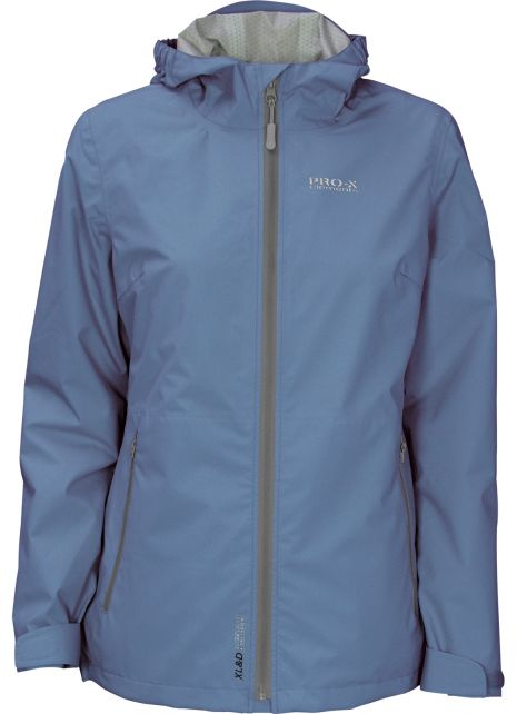 Pro-X-Elements---XL&D-rain-jacket-for-woman---Kim---Blue