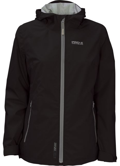 Pro-X-Elements---XL&D-rain-jacket-for-woman---Kim---Charcoal