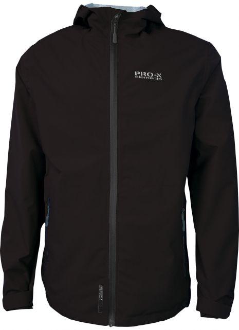 Pro-X-Elements---XL&D-rain-jacket-for-men---Blake---Black