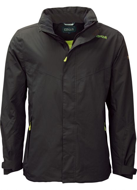 Pro-X-Elements---Transition-rain-jacket-for-men---Phase---Anthracite/Wild-lime