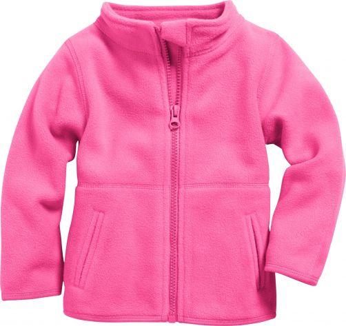 Playshoes---Fleece-jack-with-long-sleeves---Pink