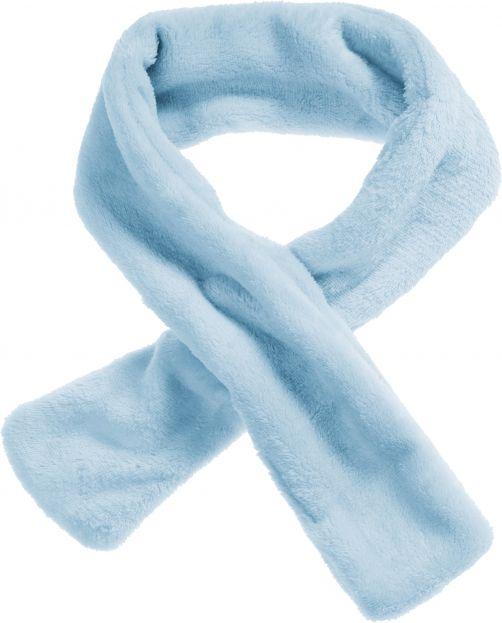 Playshoes---Fleece-shawl-with-loophole---Aquablue
