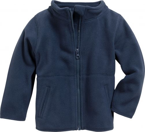 Playshoes---Fleece-jack-with-long-sleeves---Navy
