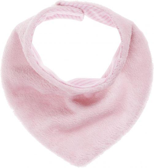 Playshoes---Fleece-shawl-triangle---Light-pink