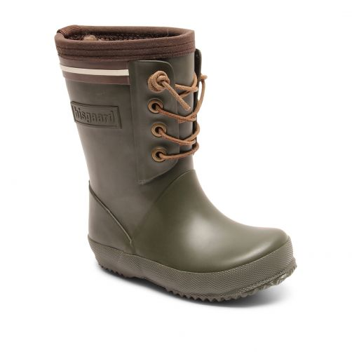 Bisgaard---Winter-boots-for-kids---Lace-Thermo---Green
