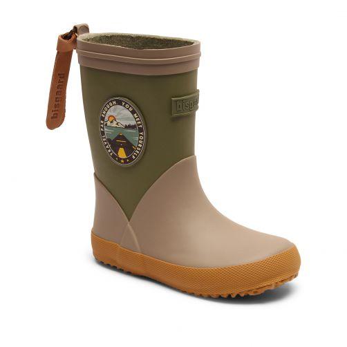 Bisgaard---Rain-boots-for-kids---Fashion-II---Green