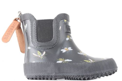 Bisgaard---Rain-boots-for-babies---Baby-Rubber---Black-Bees