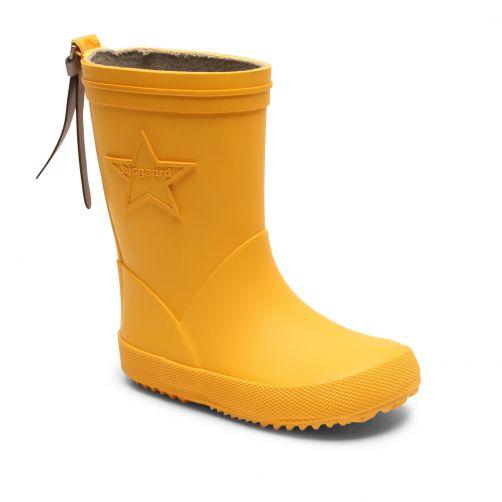 Bisgaard---Rain-boots-for-kids---Star---Yellow
