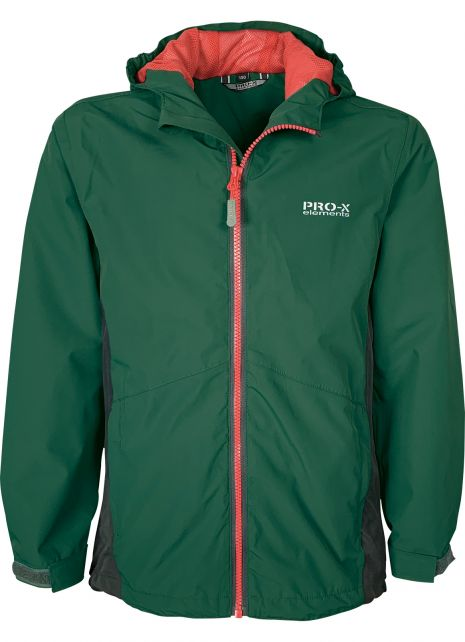 Pro-X-Elements---PXE-Lightweight-rain-jacket-for-boys---Olof---Dark-green