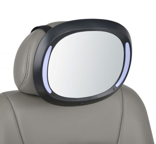 Altabebe---Luxury-LED-baby-car-mirror---Black