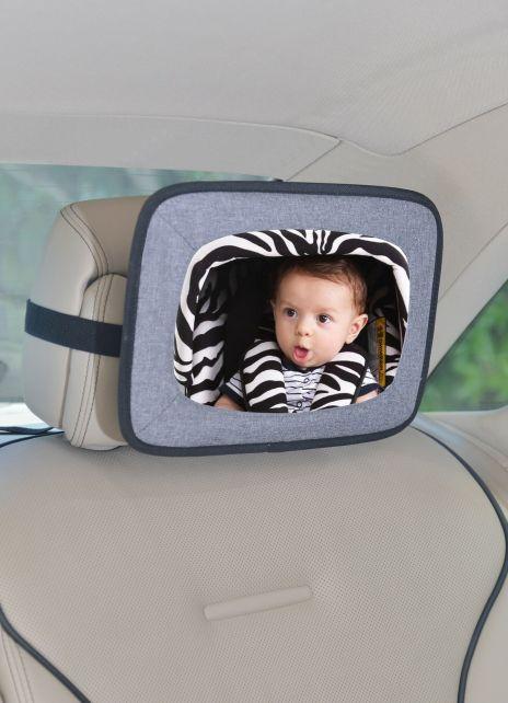 Altabebe---Baby-backseat-car-mirror---Grey