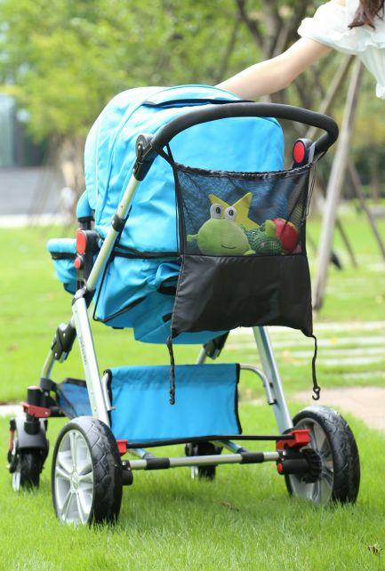 Altabebe---Universal-Mesh-bag-for-stroller-or-car-seat---Black