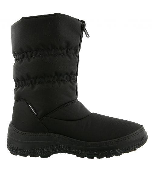 Antarctica---Snowboots-with-zipper-for-girls-and-women---AN-665---Black