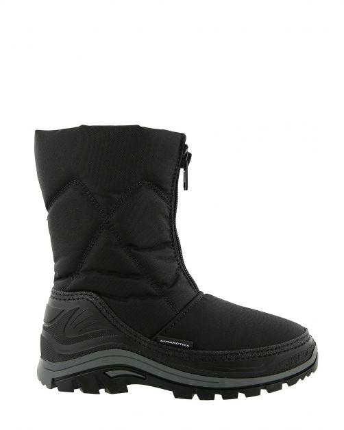 Antarctica---Snowboots-with-zipper-closure-for-children---AN-2201---Black