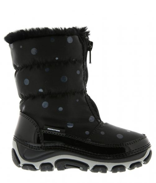 Bergstein---Snowboots/Winterboots-BN122-with-synthetic-fur-for-kids---Black
