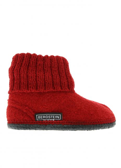 Bergstein---House-slippers-for-kids-and-adults---Cozy---Red
