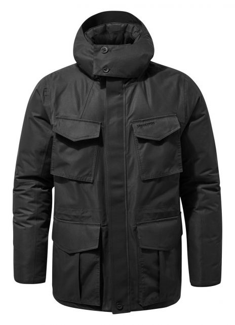 Craghoppers---Waterproof-jacket-for-men---Pember---Black-Pepper
