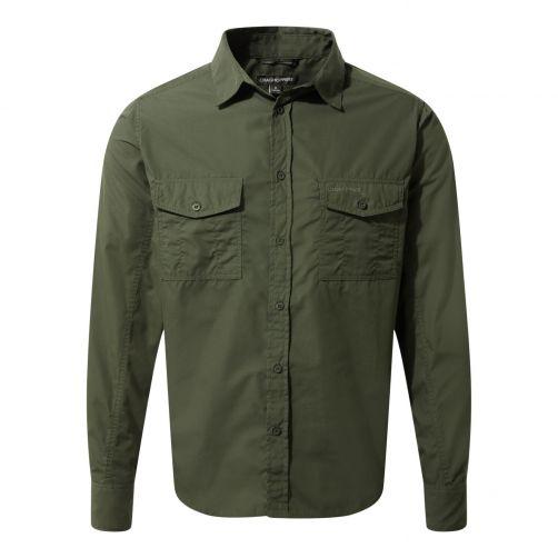 Craghoppers---UV-Shirt-for-men---Longsleeve---Kiwi---Cedar