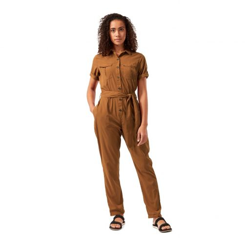 Craghoppers---UV-Jumpsuit-for-women---NosiLife-Rania---Toasted-Peacan