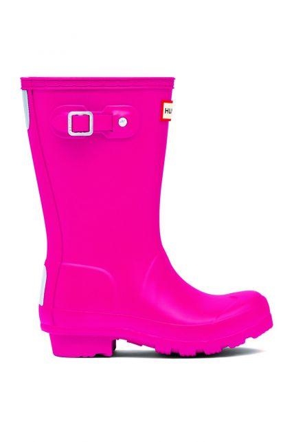 Hunter---Rainboots-for-girls---Original-Kids-Wellington---Bright-Pink