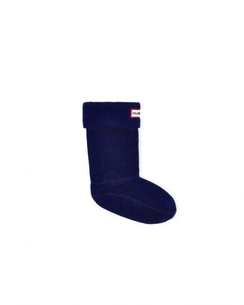Hunter---Fleece-boot-socks-for-children---Original-Kids---Navy