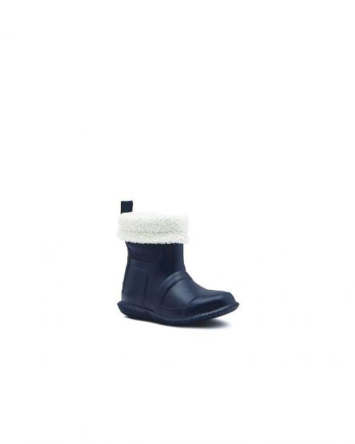 Hunter---Insulated-Sherpa-Boots-for-children---Original-Kids---Hunter-Navy