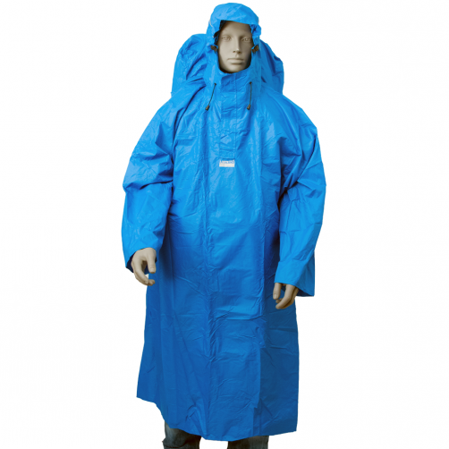 Lowland-Outdoor---Backpack-poncho-for-adults---Blue