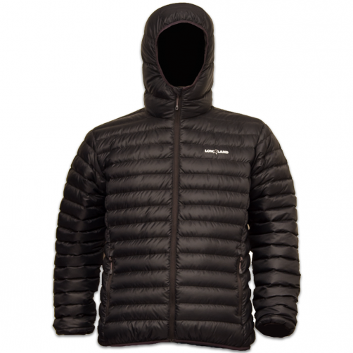 Lowland-Outdoor---Duck-down-filled-winter-jacket-for-men---Optimum---Hoody---Black