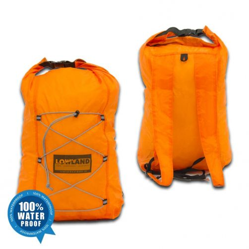 Lowland-Outdoor---Dry-backpack-10L---Orange