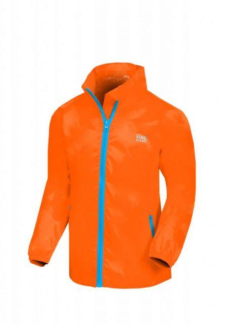 Mac-in-a-Sac---Rain-jacket-for-kids---Junior---Neon-Orange