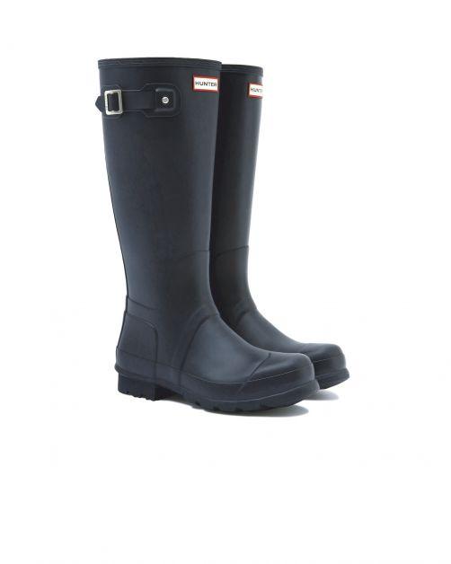 Hunter---Rainboots-for-men---Original-Tall-Wellington---Black